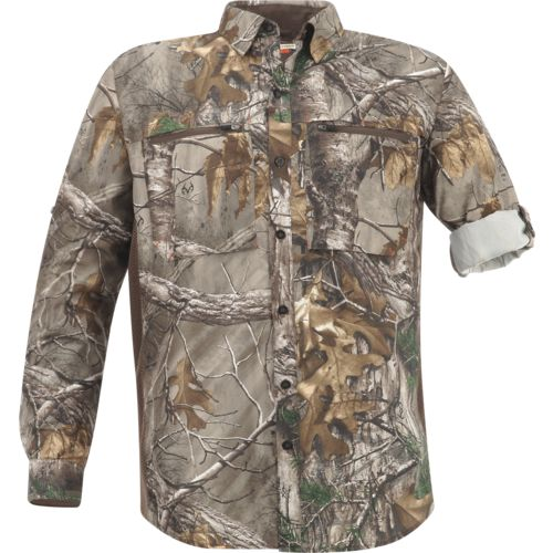 Display product reviews for Magellan Outdoors Men's  Eagle Pass Deluxe  Long Sleeve Shirt