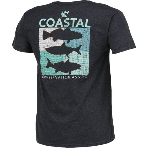 CCA Men's Coastal Box Short Sleeve T-shirt - view number 2