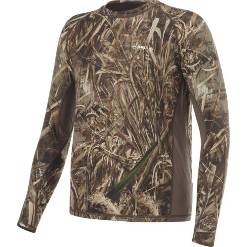 Magellan Outdoors Men's Eagle Bluff Long Sleeve Reversible Shirt - view number 3