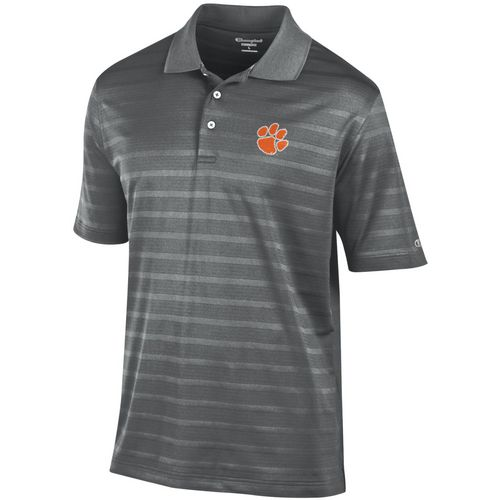 Champion Men's Clemson University Textured Polo Shirt