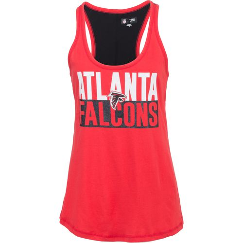 5th & Ocean Clothing Women's Atlanta Falcons Glitter Tank Top - view number 1