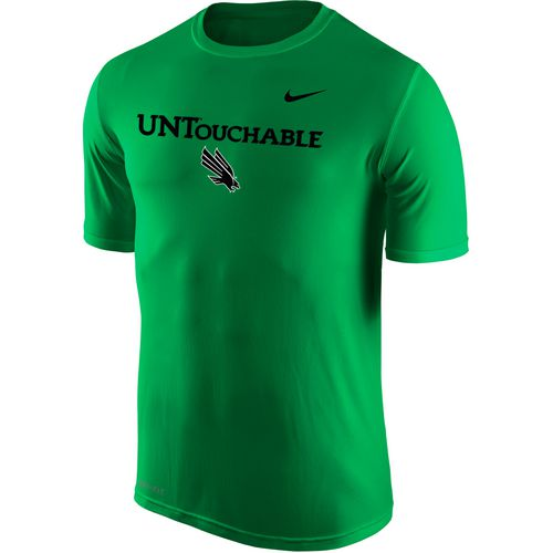 Nike Men's University of North Texas Dri-FIT Legend 2.0 Short Sleeve T-shirt