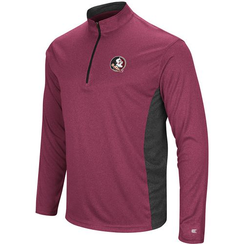 Colosseum Athletics Men's Florida State University Audible 1/4 Zip Windshirt