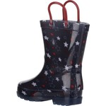 Austin Trading Co. Toddler Girls' Stars Light-Up PVC Boots - view number 3