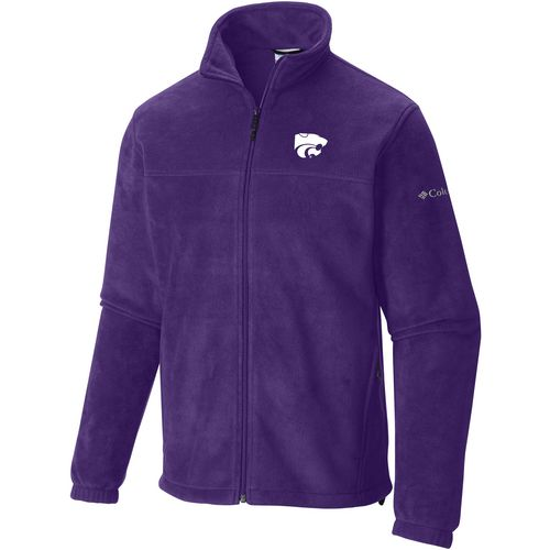 Columbia Sportswear Men's Kansas State University Flanker Full Zip Fleece