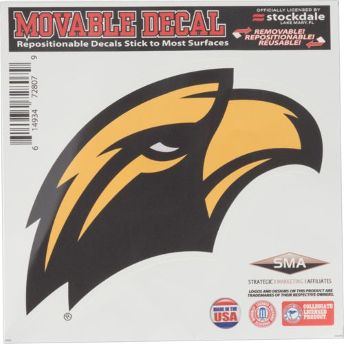 Stockdale University of Southern Mississippi 6' X 6' Single Logo Decal