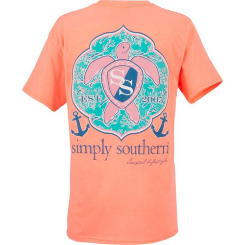 Simply Southern Women's Sea Turtle Short Sleeve T-shirt - view number 3