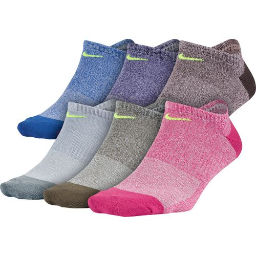Nike Women's Performance Lightweight Training No-Show Socks 6 Pack