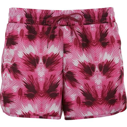 BCG Women's Big Mesh Print Basketball Short