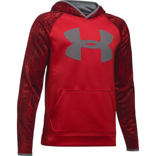 Under Armour Boys' Armour Fleece Big Logo Printed Hoodie