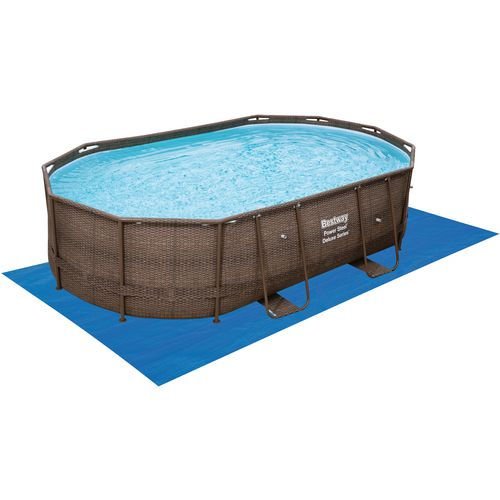 Bestway Rattan 10 ft x 16 ft x 42 in Oval Pool
