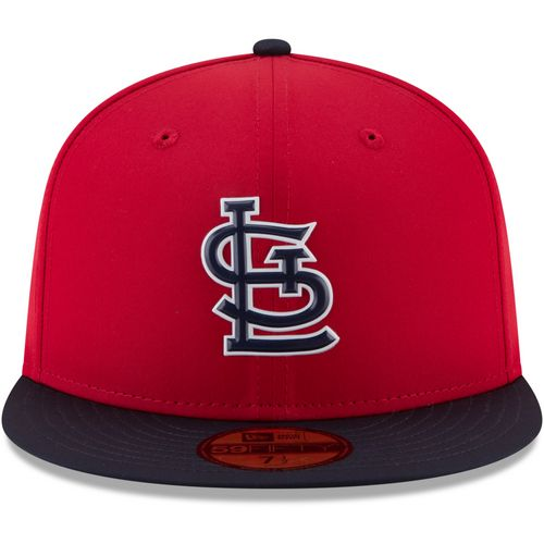 New Era Men's St. Louis Cardinals ProLight 59FIFTY Road Batting Practice Fitted Cap