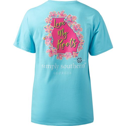 Simply Southern Women's Georgia Roots Short Sleeve T-shirt - view number 2