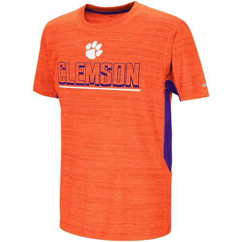 Colosseum Athletics Kids' Clemson University Over The Fence T-shirt