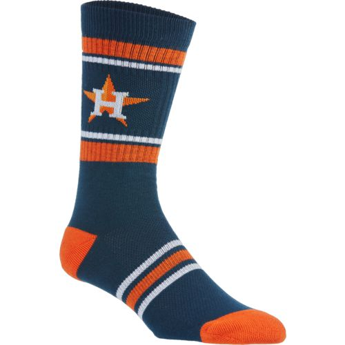 PKWY Men's Houston Astros Crew Sock