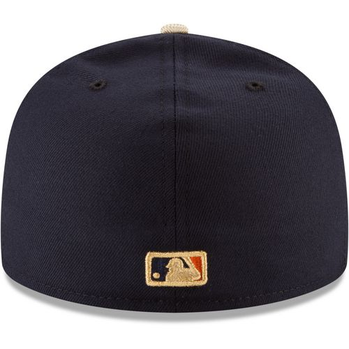 New Era Men's Houston Astros Gold Patch 59FIFTY Cap - view number 3