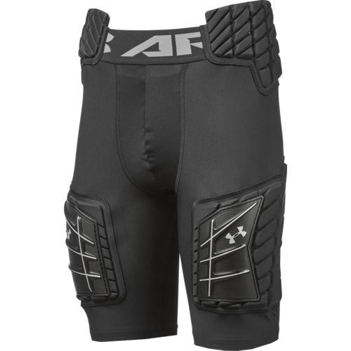 Under Armour Boys' 5-Pad Football Girdle - view number 2