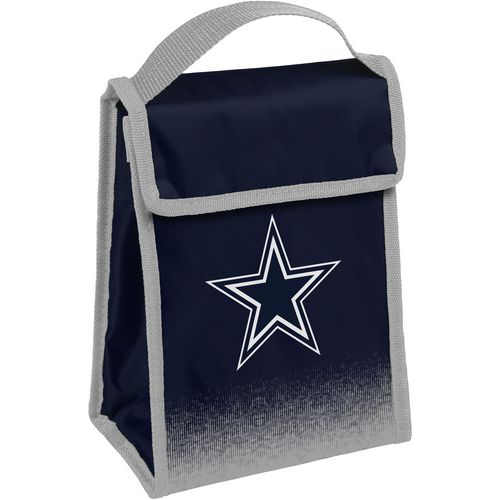 Forever Collectibles Dallas Cowboys Gradient Hook-and-Loop Lunch Bag