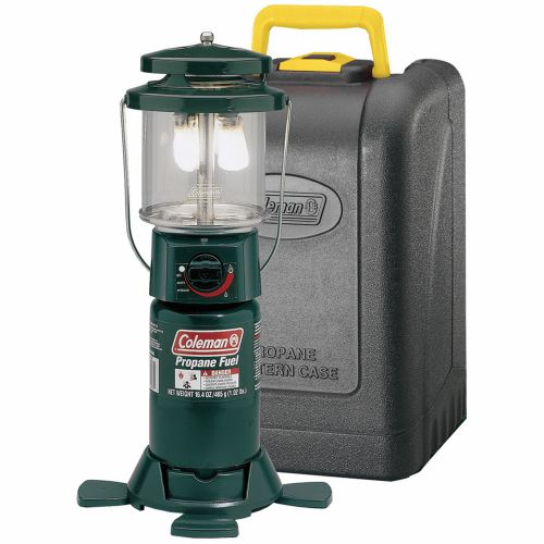 Display product reviews for Coleman® Deluxe PerfectFlow™ Propane Lantern with Hard Carry Case