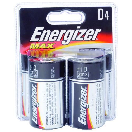 Display product reviews for Energizer® Max D Batteries 4-Pack