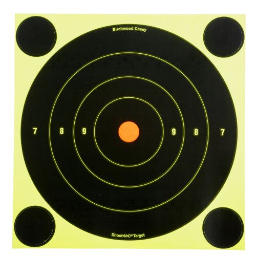 "Display product reviews for Birchwood Casey® 8"" Shoot-N-C® Bull's-Eye Targets 6-Pack"