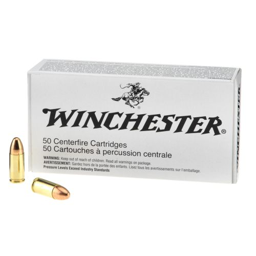 Winchester 9 mm NATO 124-Grain Ammunition