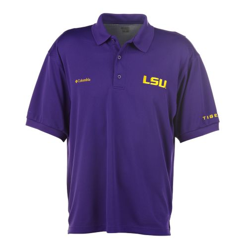 Columbia Sportswear Men's Collegiate Perfect Cast™ Louisiana State University Polo Shirt