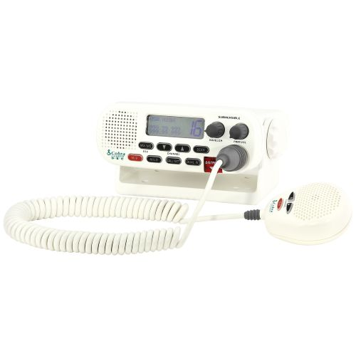 Display product reviews for Cobra MR F45 Fixed-Mount VHF Marine Radio