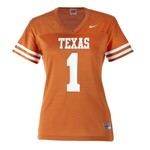 Nike Women's University of Texas Replica Football Jersey
