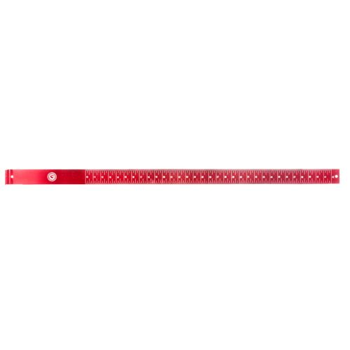 CCA 42 in Aluminum Fish Ruler - view number 1