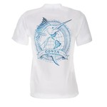 Costa Del Mar Adults' World Sail Short Sleeve T-shirt