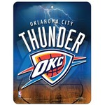 Tag Express Oklahoma City Thunder Plastic Wall Sign