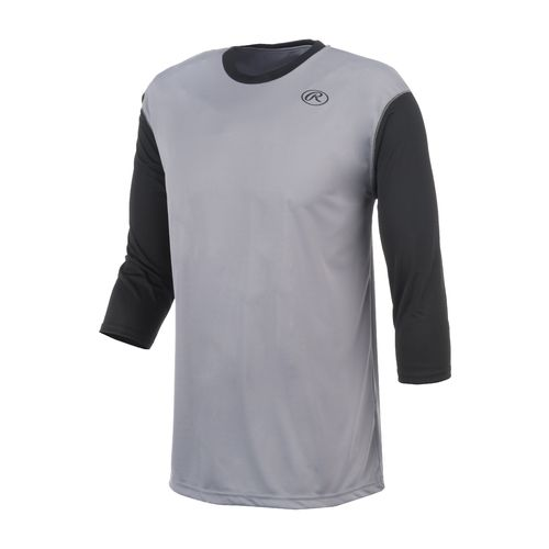 Rawlings® Men's Performance 3/4 Sleeve Baseball Top