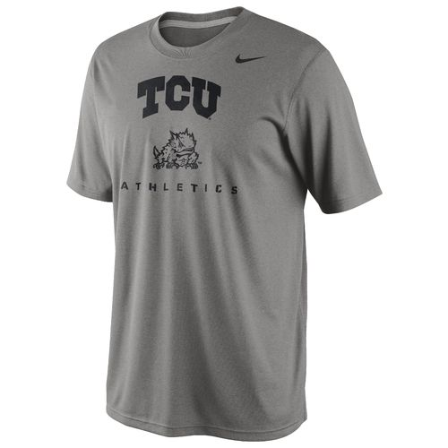 Nike Men's Texas Christian University Dri-FIT Athletics Legend Short Sleeve T-shirt