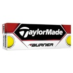 TaylorMade Burner Yellow Golf Balls 12-Pack