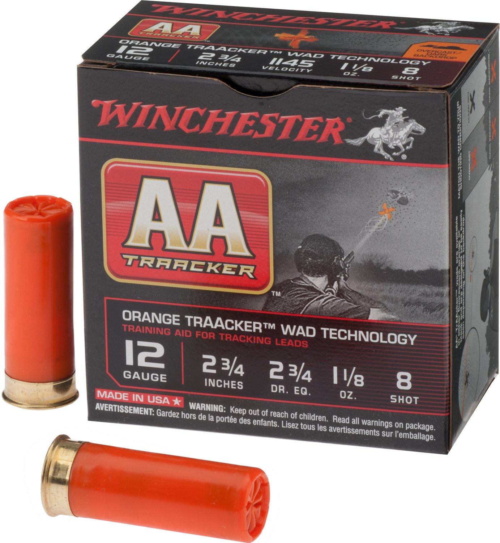 Winchester AA Traacker 12 Gauge 8 Shotshells
