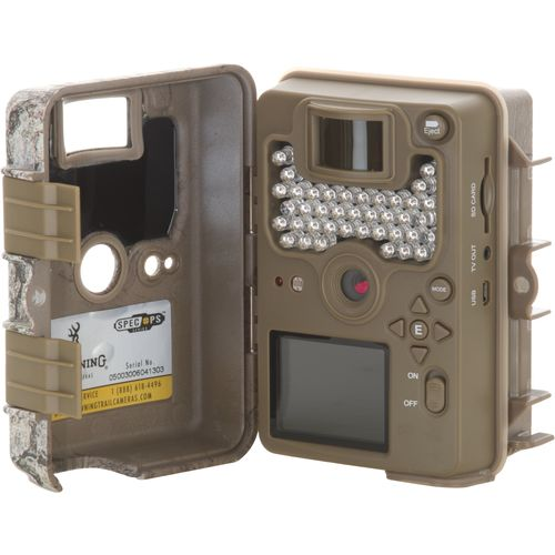 Browning Spec Ops 8.0 MP Infrared Invisible Flash Trail Camera