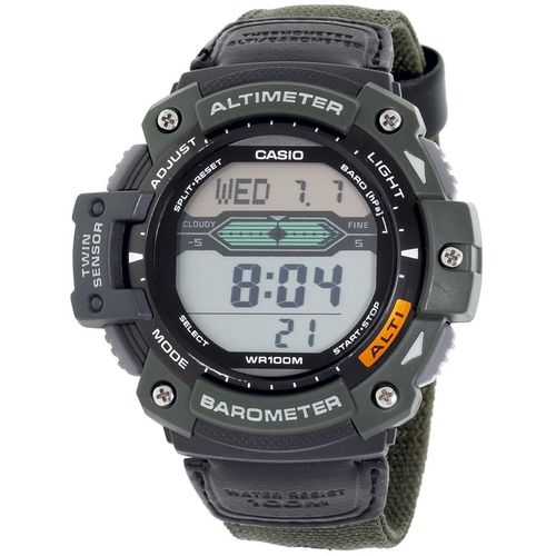 Casio Men's Twin Sensor Multifunction Altimeter/Barometer Watch