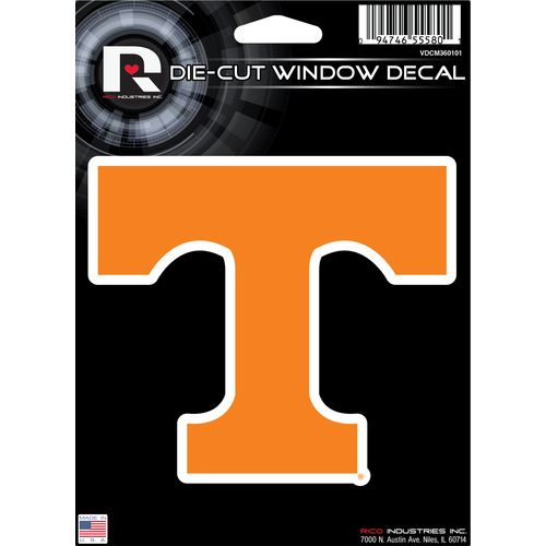 Tag Express University of Tennessee Die-Cut Decal - view number 1