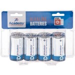Academy Sports + Outdoors™ D Alkaline Batteries 8-Pack