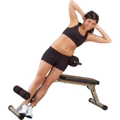 Body-Solid Best Fitness Ab Board Hyperextension Bench - view number 2