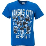 COED Sportswear Youth Kansas City Royals Roster T-shirt