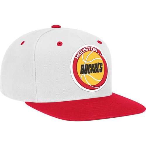 adidas™ Adults' Houston Rockets Special Make Ups Flat Brim Snapback Cap