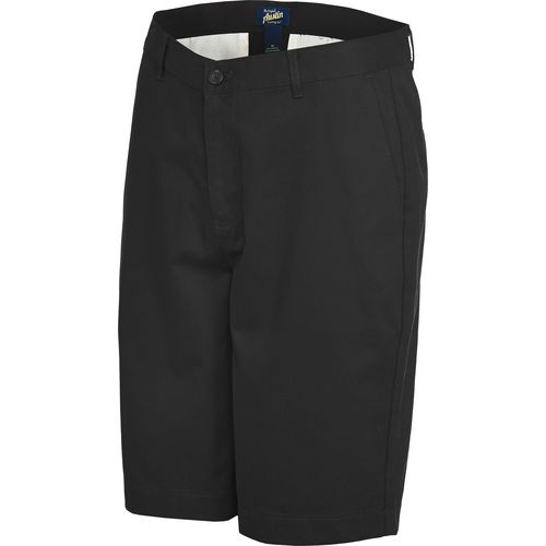 Austin Trading Co. Men's School Uniform Flat Front Twill Short