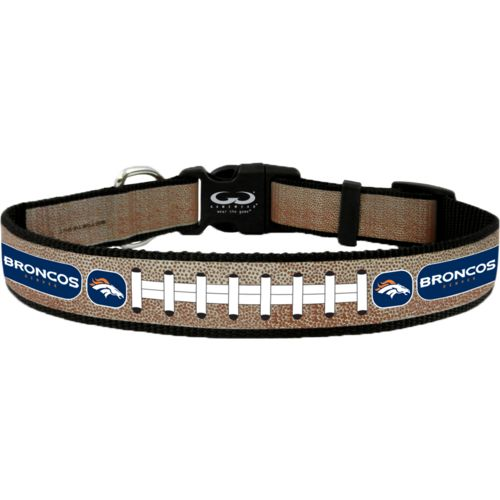 GameWear Denver Broncos Reflective Football Collar