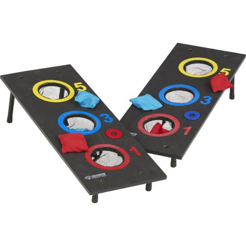 Triumph Sports USA 2-in-1 3-Hole Washer and Bag Toss Set