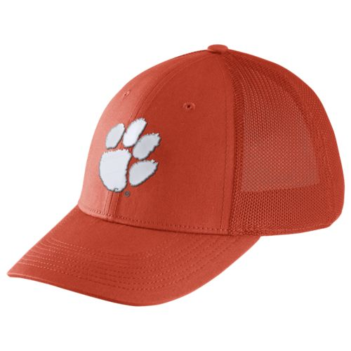 Nike™ Men's Clemson University Dri-FIT Legacy91 Mesh Back Swoosh Flex Cap
