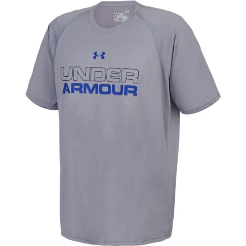 under armour men 39 s wordmark t shirt academy