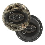 "Dual Realtree Camo 6.5"" 4-way Speakers (Pair)"