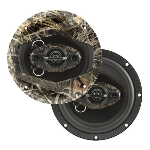 Dual Realtree Camo 6.5' 4-way Speakers (Pair)